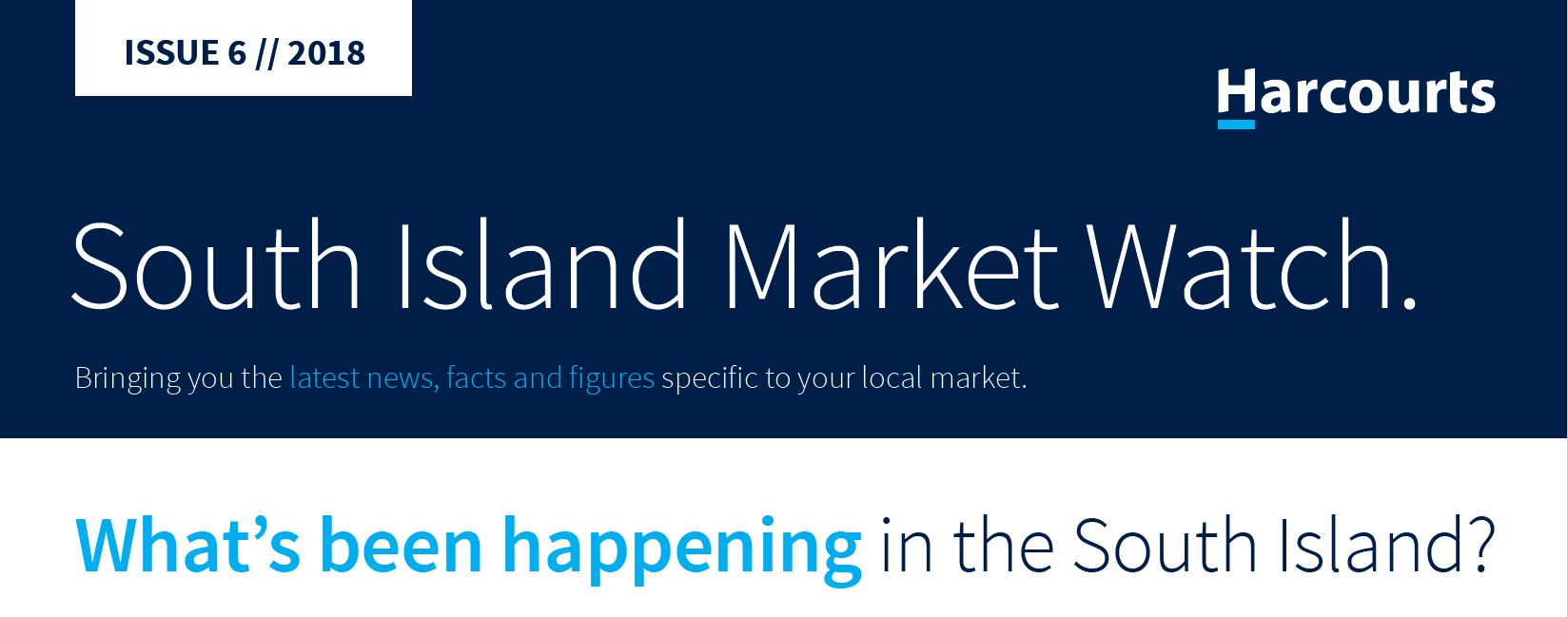 South Island Market Watch July 2018