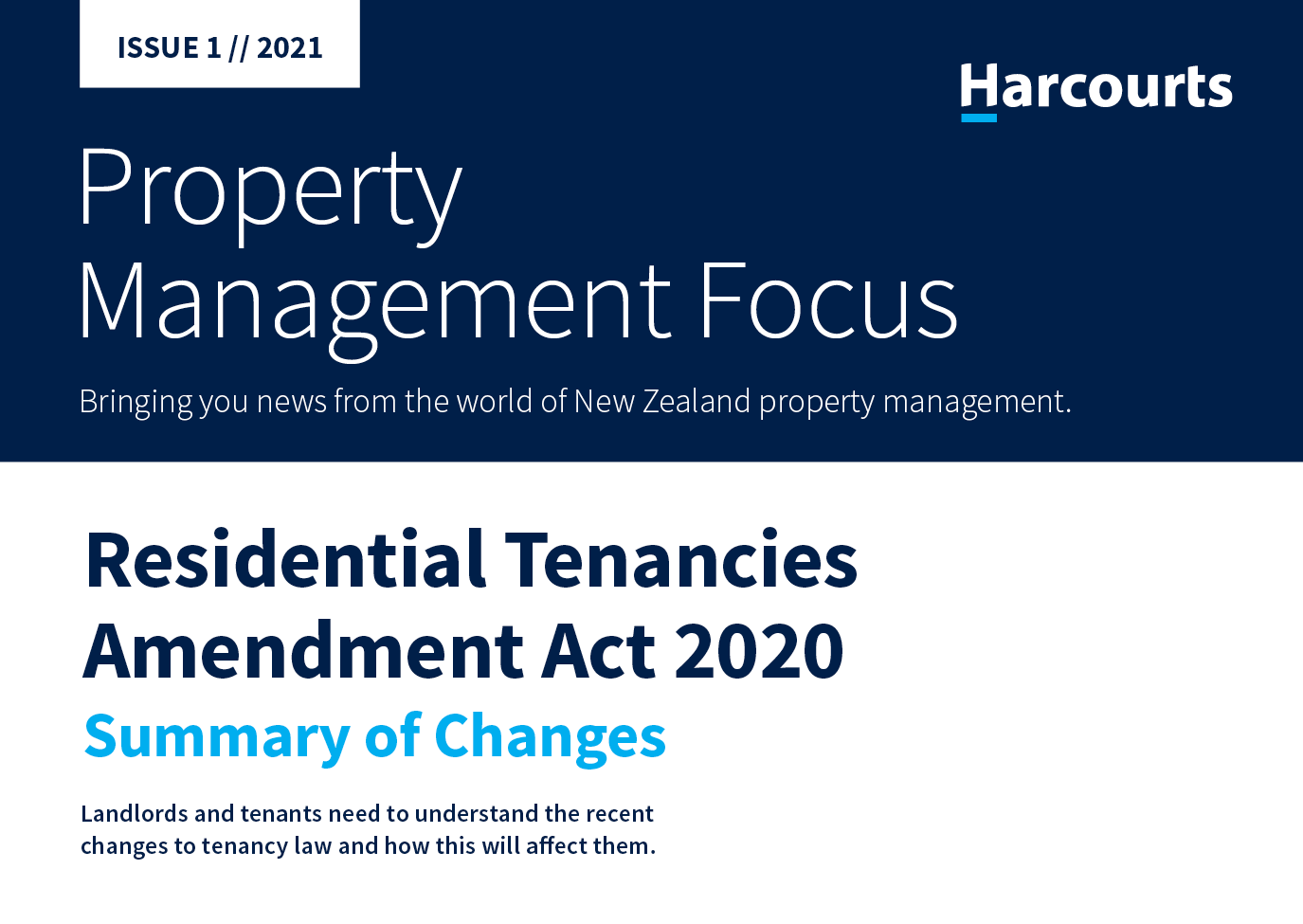 Property Management Focus January 2021