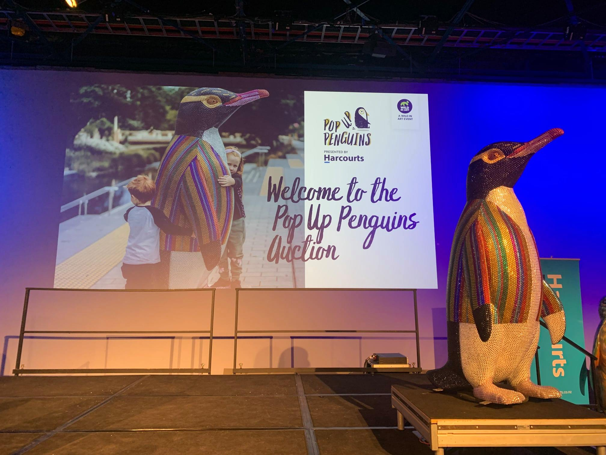 Harcourts helps raise over a cool million from Pop-Up Penguins