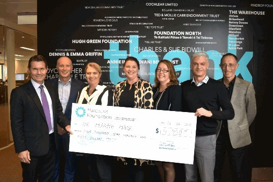 Donation to life-changing charity