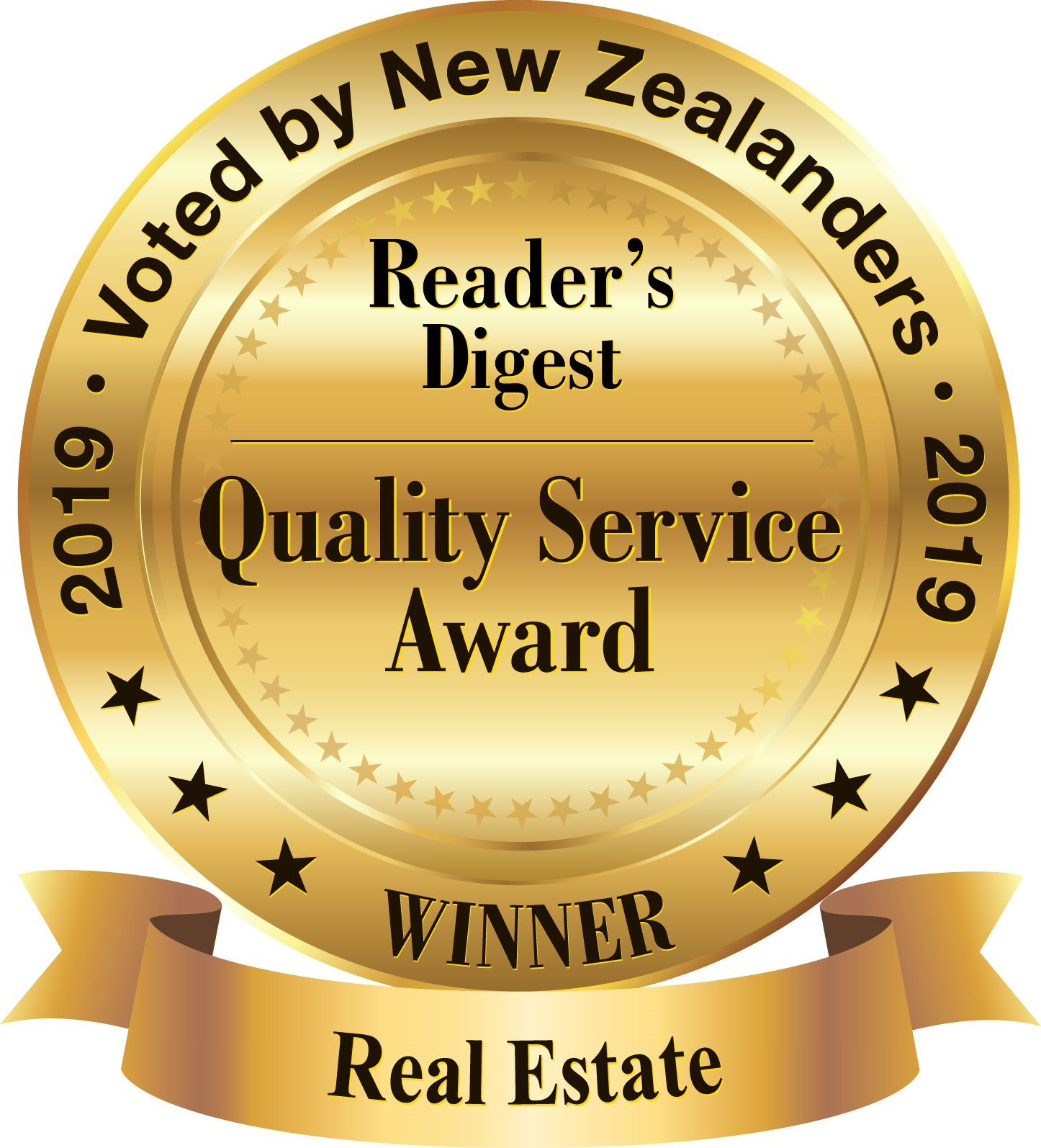 Harcourts wins gold for Quality Service in real estate sales