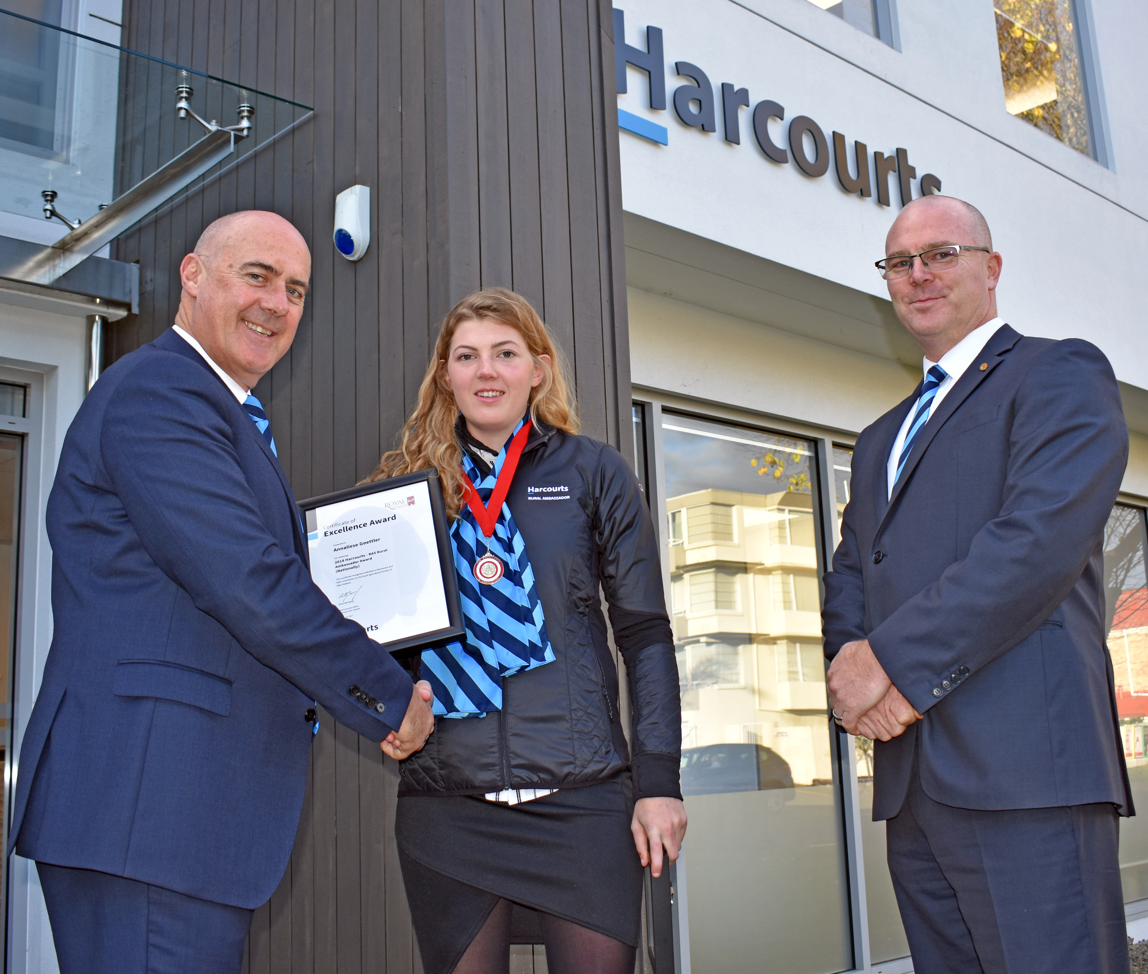 The Harcourts RAS Rural Ambassador of the Year