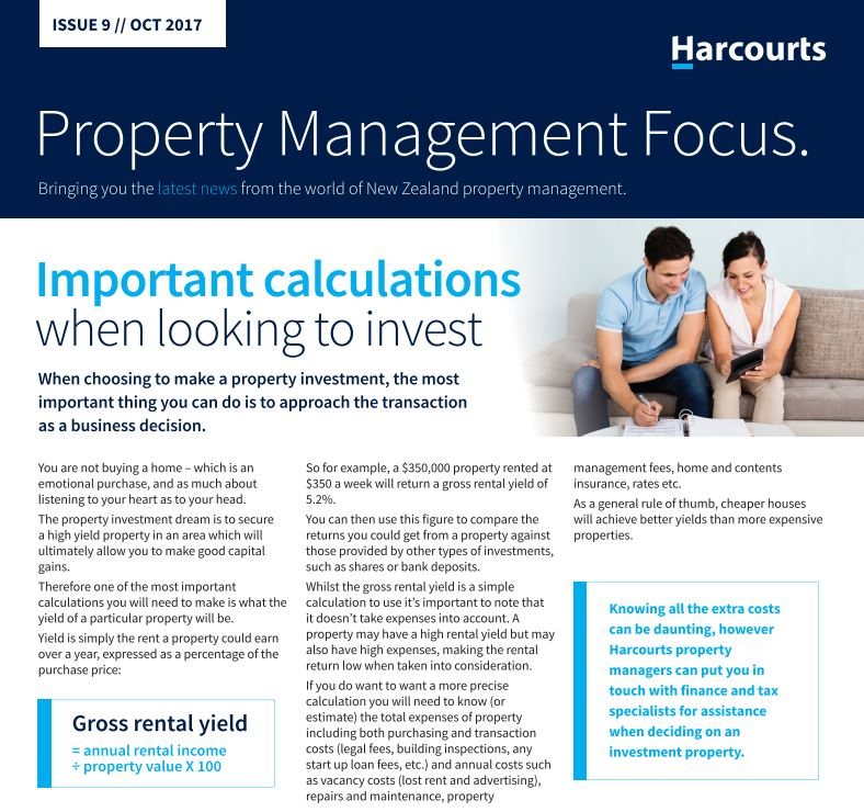 Property Management Focus, October 2017