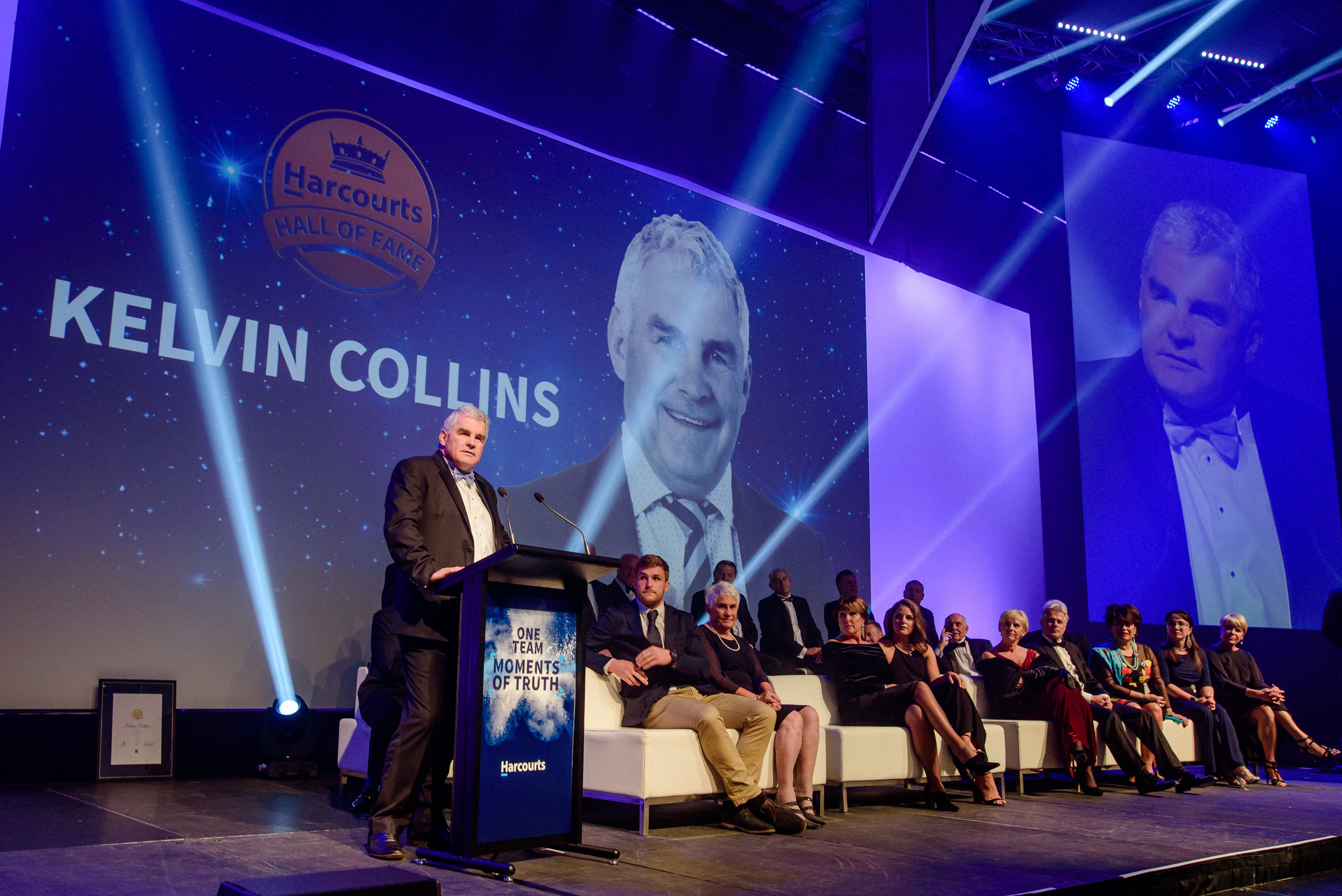 Welcome to the Hall of Fame, Kelvin Collins!
