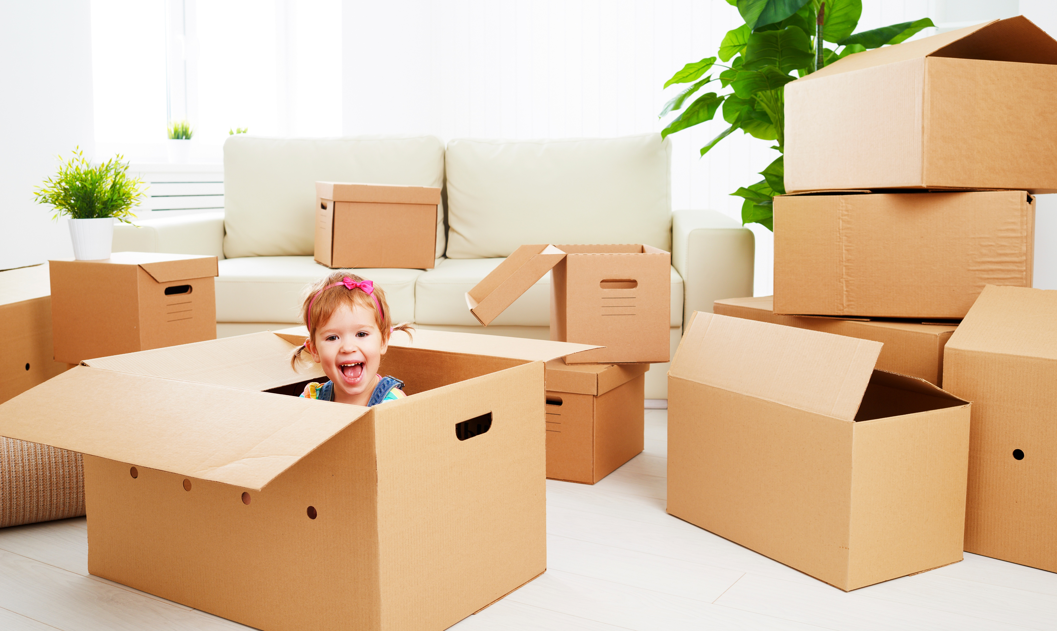 Tips to keep kids happy on moving day
